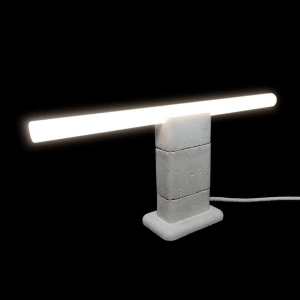 Lampa Stołowa-MinimaLinia Beton Architektoniczny